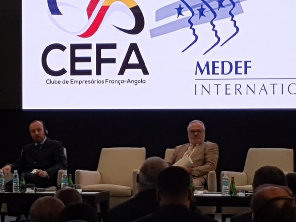 Forum Empresarial por ocasião da visita da delegação do MEDEF Internacional